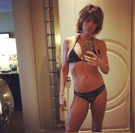 erika bierman bikini lisa rinna 54 dons bikini after delilah s swimsuit strut
