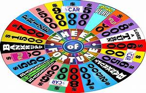 The gallery for --> Wheel Of Fortune $2500 Wedge