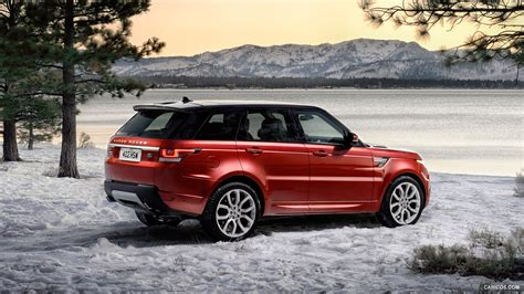 red land rover red range rover wallpaper wallpapersafari