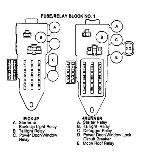 91 Toyotum Camry Fuse Diagram by Does 91 3vze Use A Starter Relay Yotatech Forums