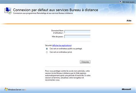 installation et configuration terminal serveur appremote sur windows 2008 r2 guillaume