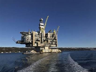 Oil Canada Hebron Platform Newfoundland Marine Project