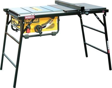 mobile table saw stand rousseau portamax 2745 table saw stand a concord carpenter