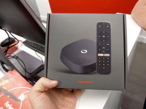 The Android TV powered Vodafone TV box is arriving in