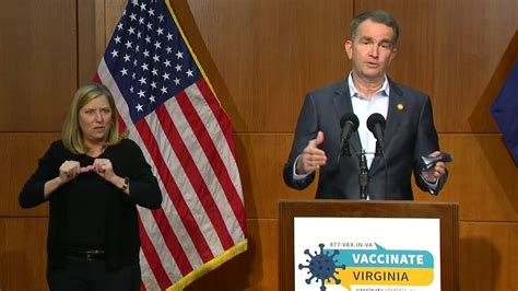 Northam: More mass vaccination clinics, hopes for a fully ...