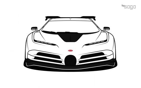 Subscribe to see more of my drawing tutorials. Bugatti Car Sketch