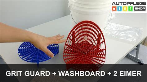 grit guard eimer grit guard grit guard washboard im 2 eimer system