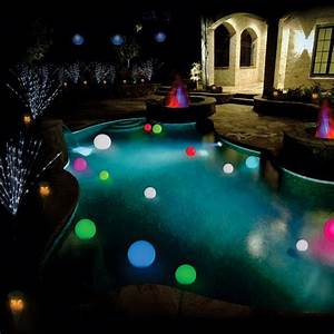 Color Changing Floating Pool Lights Solar Power Changing Color Led Floating Light Ball