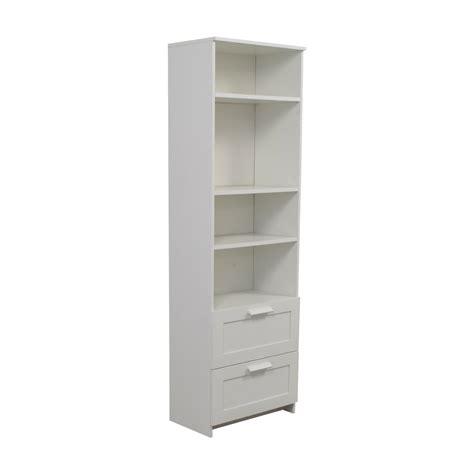 White Bookcase by 44 Ikea Ikea Brimnes White Bookcase With Two