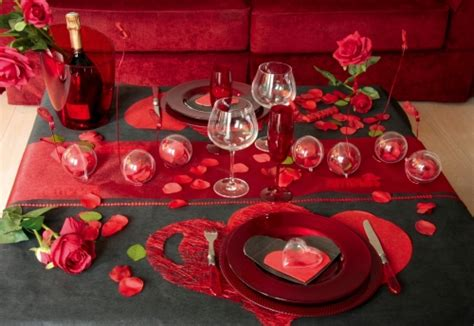 decoration pour la valentin d 233 coration de tables pour la valentin 1 d 233 co