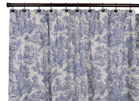 park toile bathroom shower curtain the shoppers