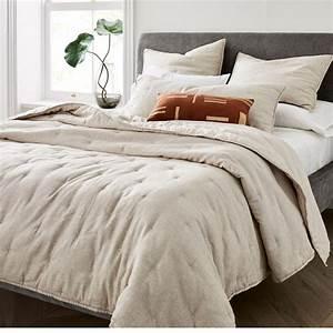 Belgian, Flax, Linen, Cotton, Metallic, Quilt, Starter, Bedding