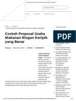Contoh proposal usaha kripik pisang bab i pendahuluan a. Contoh Proposal Keripik Singkong.docx