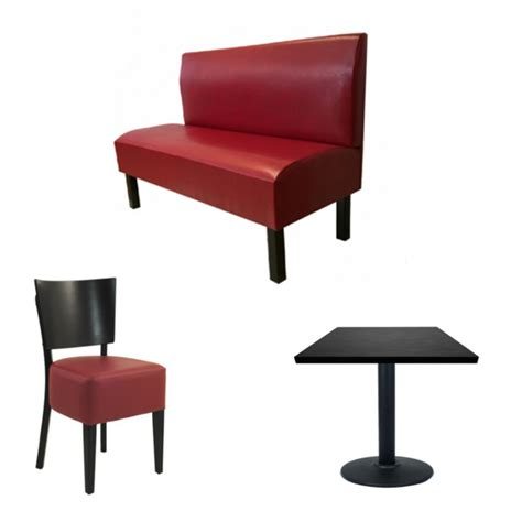 chaise et table de restaurant banquette restaurant classique tables de restaurant