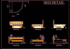 Corner Bed Detail Plan N Design