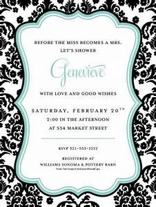 Blank Scroll Invitations Invitations Bridal Shower Bachelorette Bridal