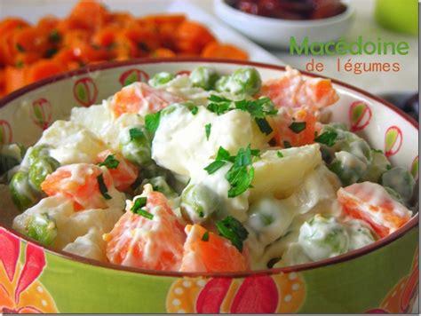 cuisine saine et simple macédoine de légumes mayonnaise le cuisine de samar
