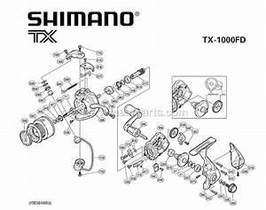 Shimano Spinning Reel Tx