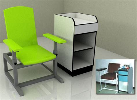 Extraction Chair   elite Scientific & Diagnostic Int'l