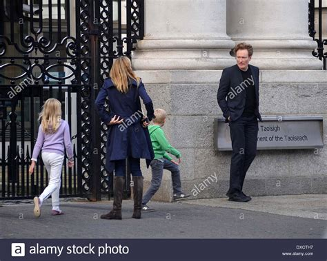 O Brien Images Conan Obrien And Family Stock Photos Conan Obrien And