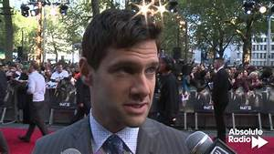 The Hangover 3: Justin Bartha red carpet interview - YouTube