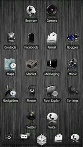 Black ADW Theme for Android ~ Softs, games for mobile and ...