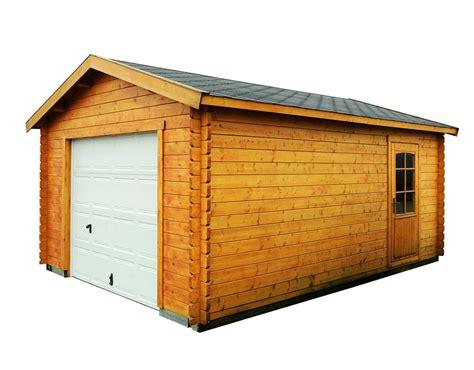 construire un garage en bois mieux que du b 233 ton maison jardin