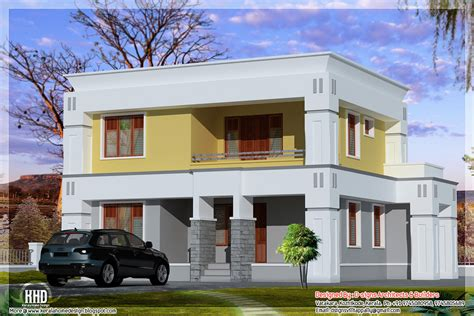 Home Design Box Type by Small Box Type Home Design Kerala Home Design Kerala