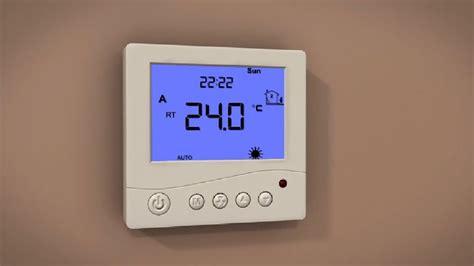 prowarm underfloor heating prodigital thermostat setup