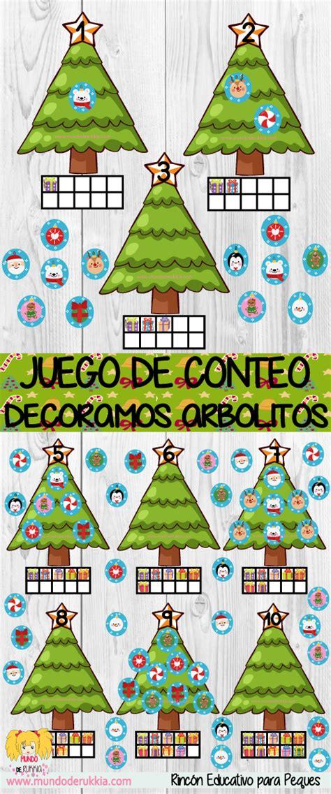 juegos de arboles de navidad juego de conteo decoramos arboles de navidad kar 225 csonyfa juegos matem 225 ticas