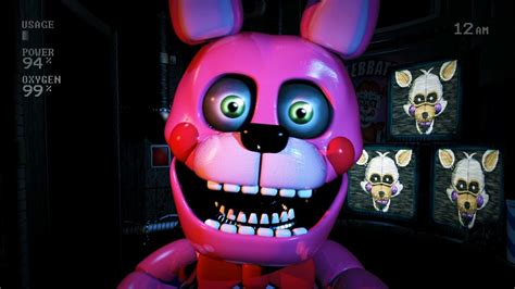 nuevos animatronicos weirdos custom night bonnet