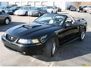 2002 Black Ford Mustang GT Convertible #24273161 | GTCarLot.com - Car Color Galleries