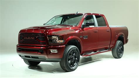 ram introduces updated  sport   black editions