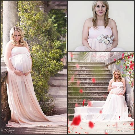 Pregnant Women Baby Shower Dresses 2016 Strapless A Line