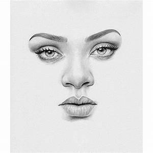 rihanna pencil drawing artist on Instagram