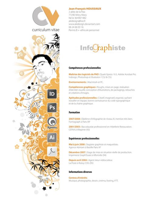 Graphic Designer Creative Resume by 30 Artistic And Creative R 233 Sum 233 S Webdesigner Depot