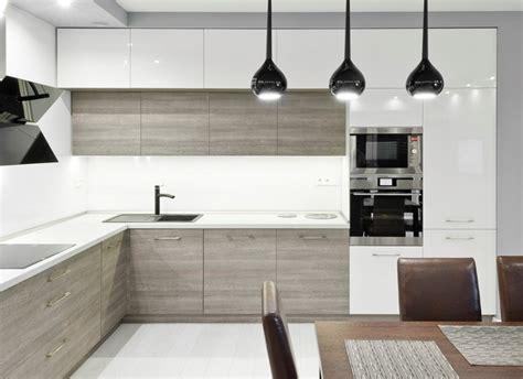 cuisine bois plan de travail blanc photos cuisine blanche grise nancy 3326 balilandsale info