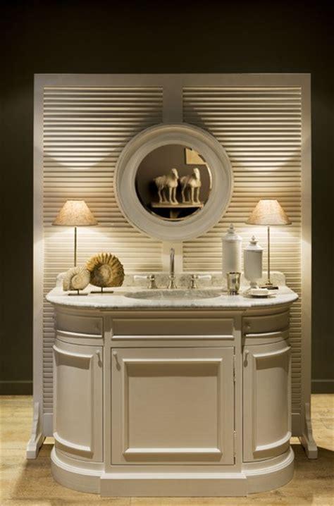 meuble salle de bain flamant