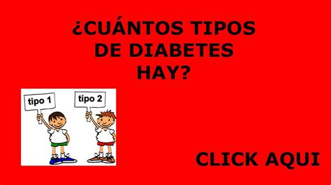 cuales son los tipos de diabetes cuales son