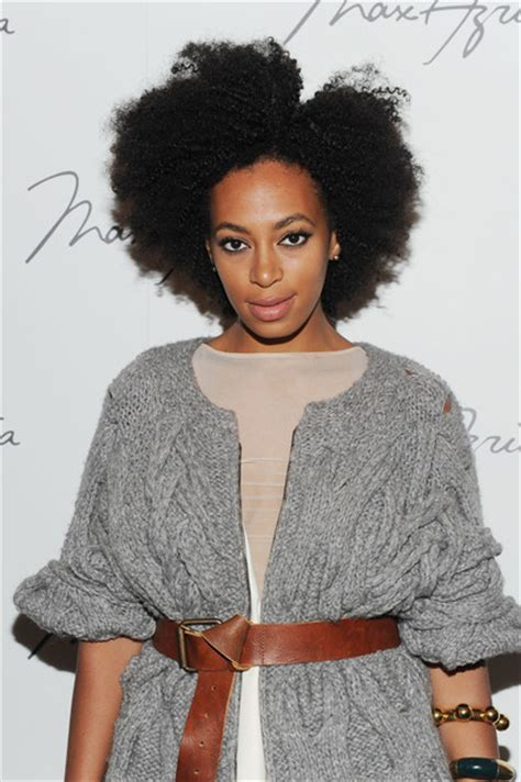 Solange Knowles Pictures   Max Azria   Backstage   Spring