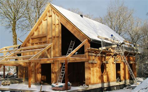 cout construction maison ossature bois prix et tarif fondation maison ossature bois boismaison