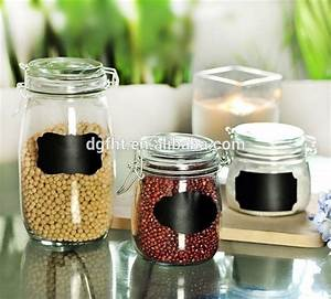 teenie vinyl diy wedding favors mason pantry canisters With diy waterproof labels for jars