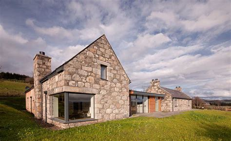 Highland Stone Home With Reclaimed Materials