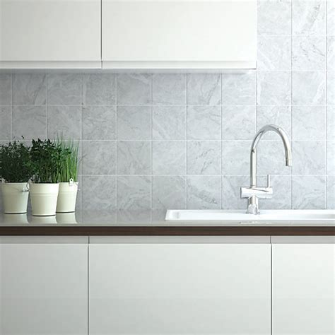 wicks kitchen tiles wickes azzara connect grey field ceramic tile 150 x 150mm 1098
