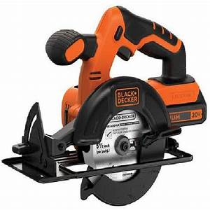 Cordless Power Circular Hand Saw With Battery  U0026 Charger