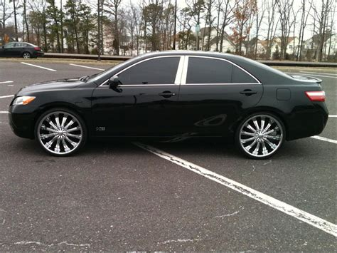 Toyota Camry Rims by 2007 Toyota Camry With 22 Inch Rims