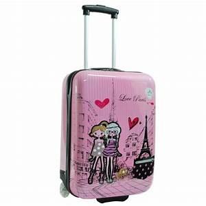 Valise Enfant Fille : valise filles rose snowball coque rigide rose rose achat vente valise bagage 3662796045152 ~ Teatrodelosmanantiales.com Idées de Décoration