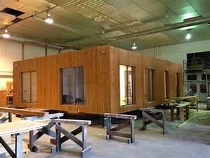 Maison Modulaire Bois : maison modulaire en bois blu 124 d plex maison en bois ~ Melissatoandfro.com Idées de Décoration