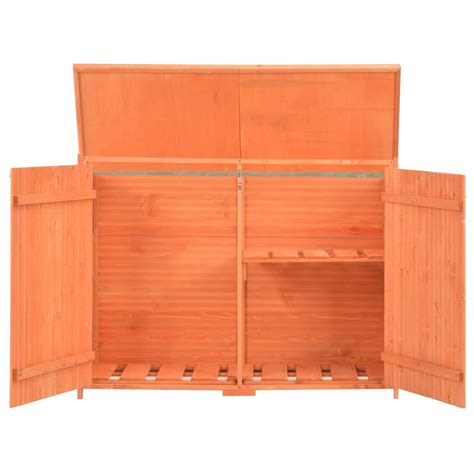 wooden garden shed outdoor store cupboard tool storage