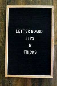 tips tricks for using a felt letter board in your home With buy felt letter board